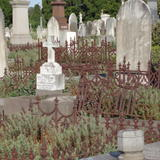 graves and railings