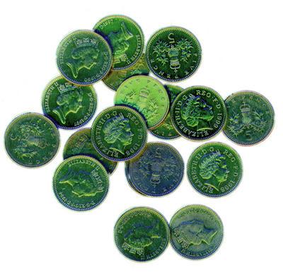 green coin price