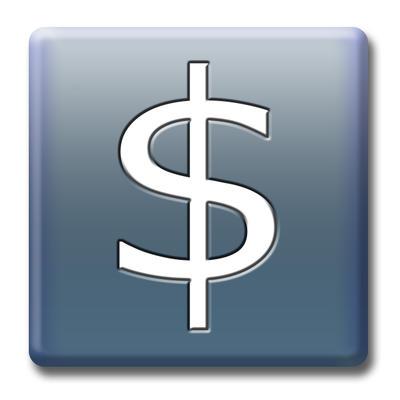 money symbol icon. tattoo Two dollar icon Stock