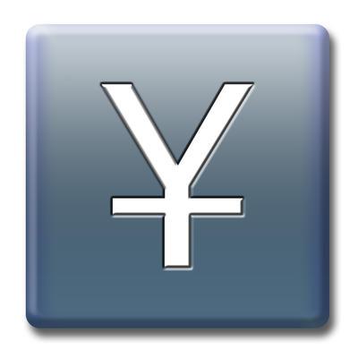 Yen Symbol Value Stock Photo