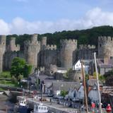 conway castle and docks