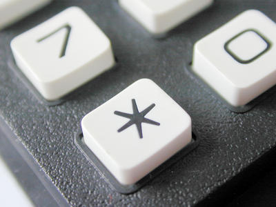 asterisk key