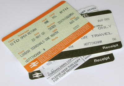 Rail Ticket Value Stock