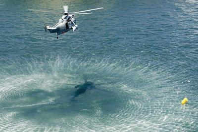 navy sea king helicopter
