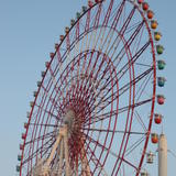 huge fairground wheel