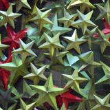 Metallic Christmas Stars