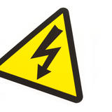 electric danger sign