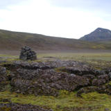 iceland country cairn