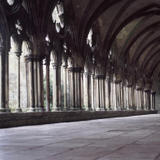 cloisters - salisbury cathedral