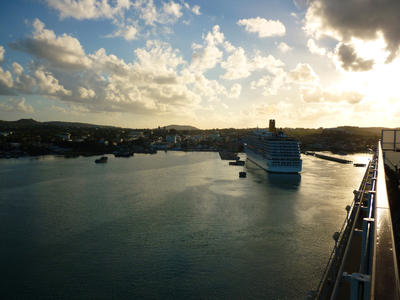 antigua sunrise