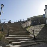 Church stairs in Whitby, North Yorkshire